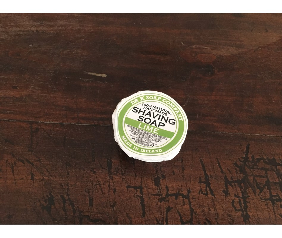 DR. K SOAP SHAVING SOAP 70 g LIME